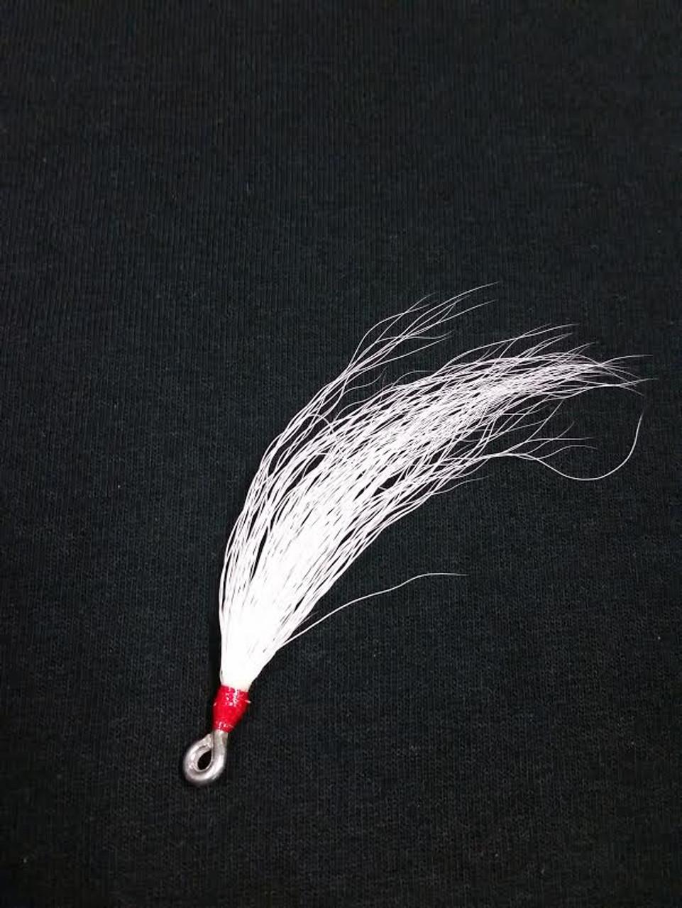 Bucktail Teaser White