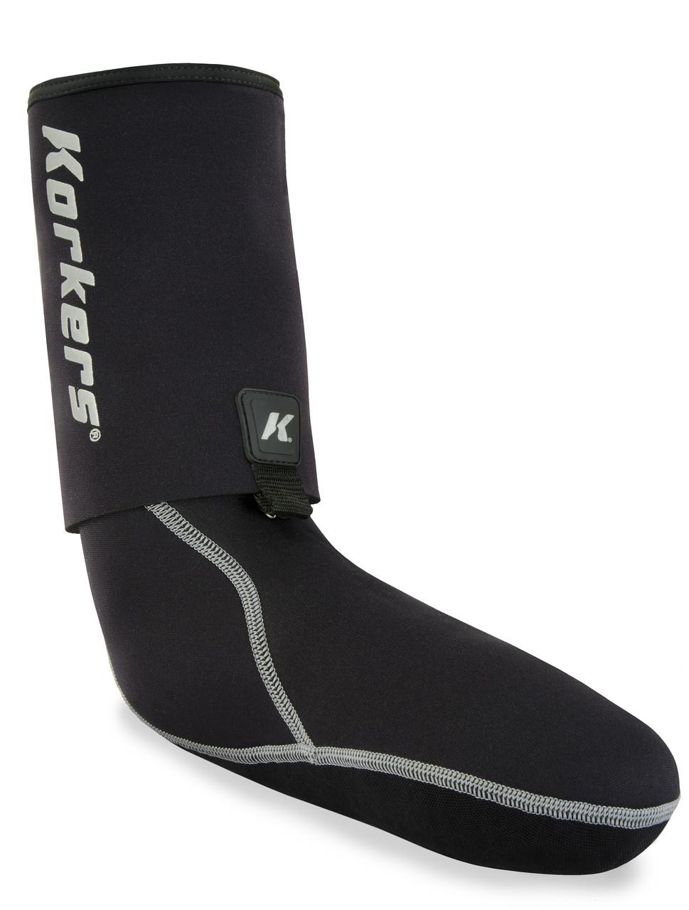 Korkers I-DRAIN Neoprene Guard Socks 3.5MM Medium (Sizes 9-10)