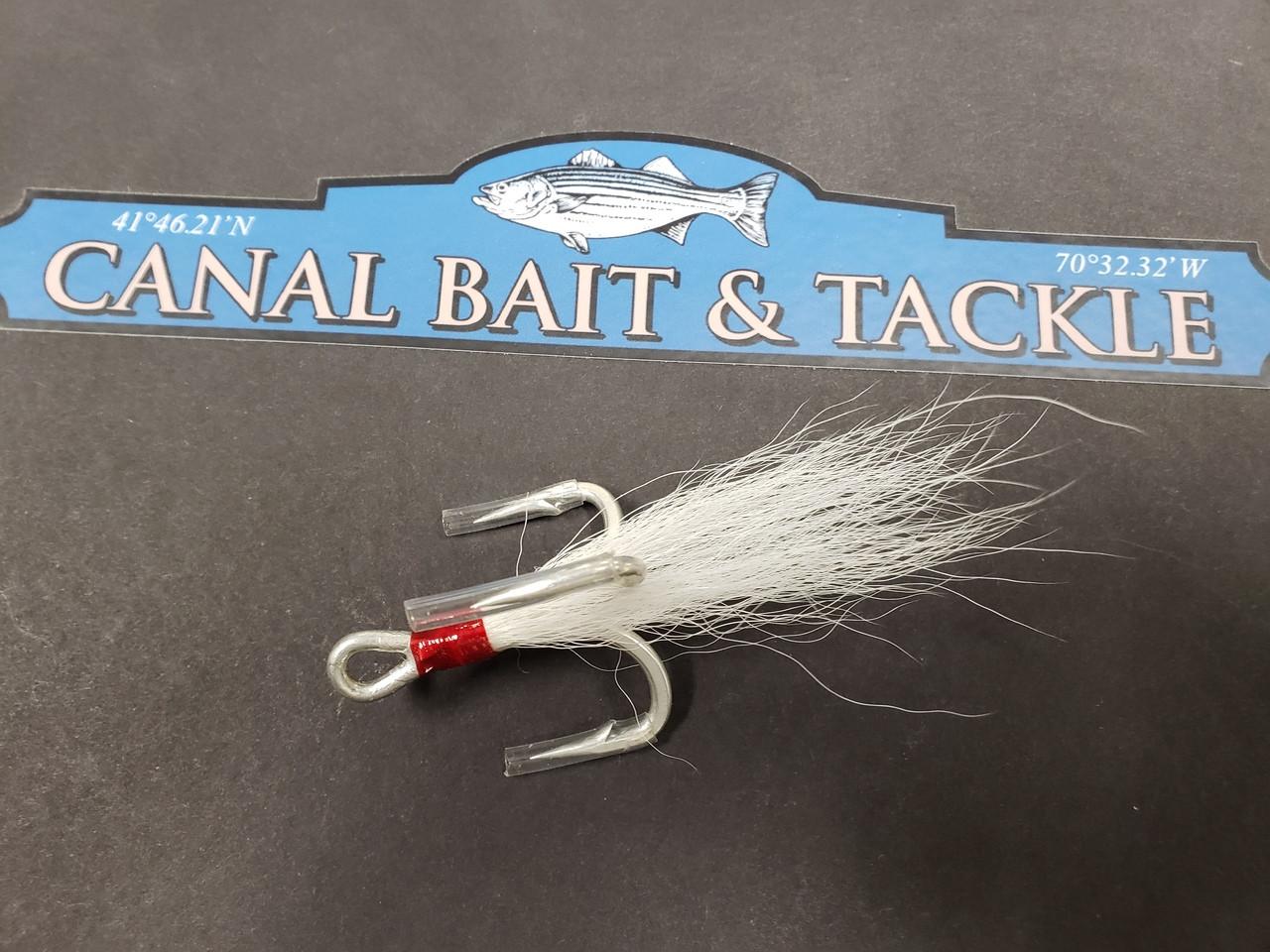 Owner Treble Bucktail Hook 3/0 ST-76 (1 Pack) 5676-139