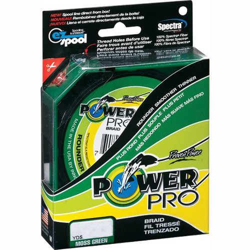 Power Pro Braid 50 lb 300yd Spool (Green)