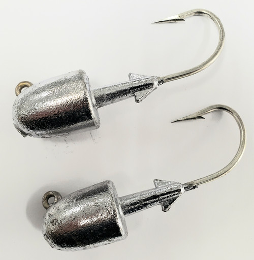 10 Pack 5 Sizes to Choose from Last Cast Tackle 1//4-1oz White Ball Jig Heads