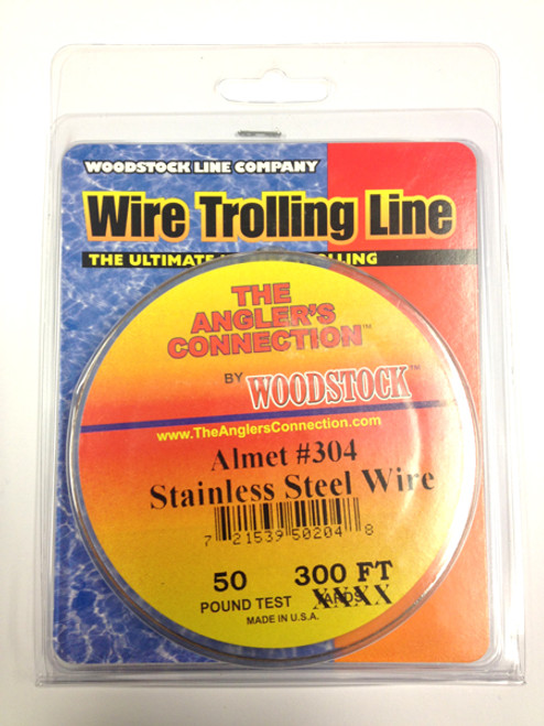 Woodstock Steel Trolling Line 100yd Spool (50lb Test)