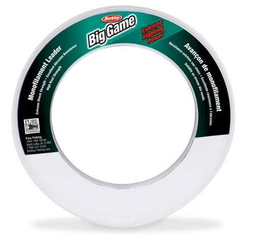 Berkley Monofilament Leader Material 55yds 50lb Test (Clear)