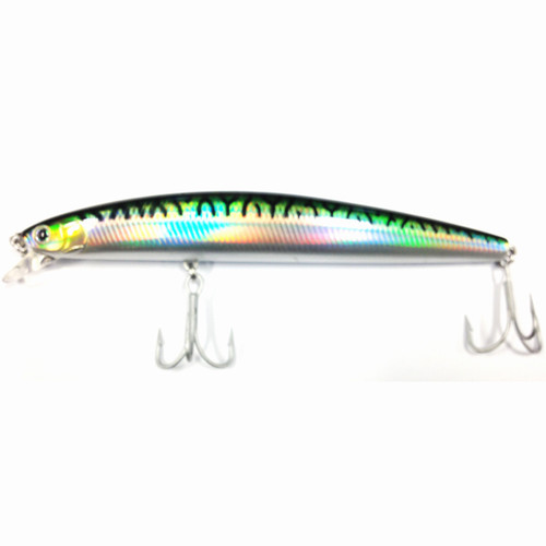 "Daiwa SP Minnow Floating 6.75"" 1 5/8oz Green Mackerel"
