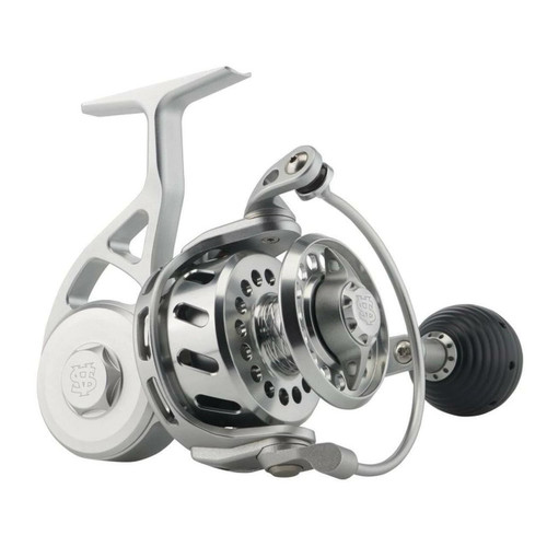 Van Staal VR50 Bailed Spinning Reel (New 2021) Silver