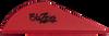 Maroon Blazer Vanes By Bohning: Custom Fletching Blazer Vanes Green, Neon Pink, Silver