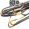 60X BCY X 3 Color Custom Compound Bow String & Cable