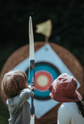 Building Family Bonds with Archery