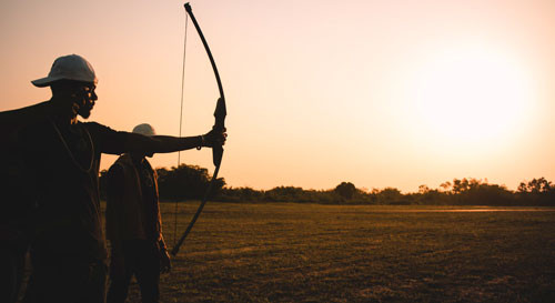 Longbow Shooting Tips