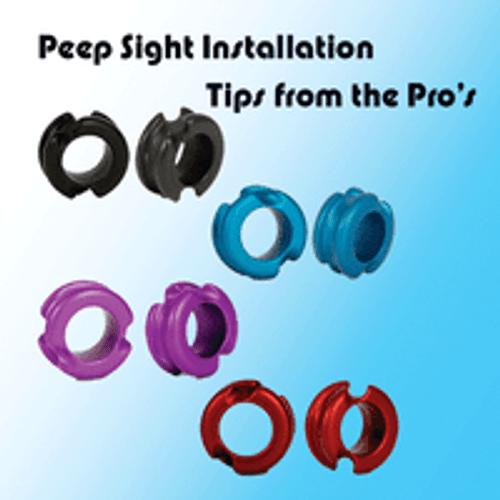 Peep Sight Installation Tips From The Pro S 60x Custom