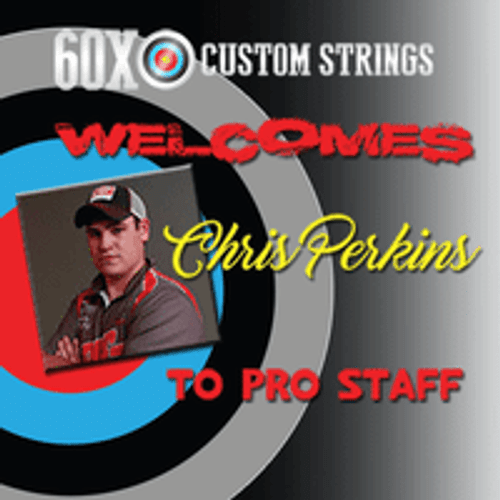 60X WELCOMES CHRIS PERKINS TO PRO STAFF