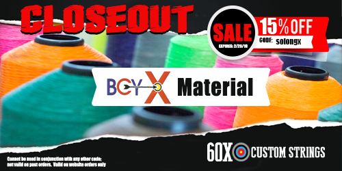 Closing Out BCY X Bow String Material