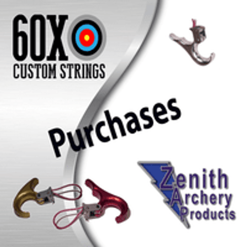 60X CUSTOM STRINGS PURCHASES ZENITH ARCHERY