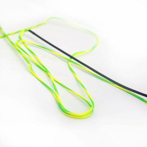 2-Color Dacron Longbow & Recurve Custom Bow String