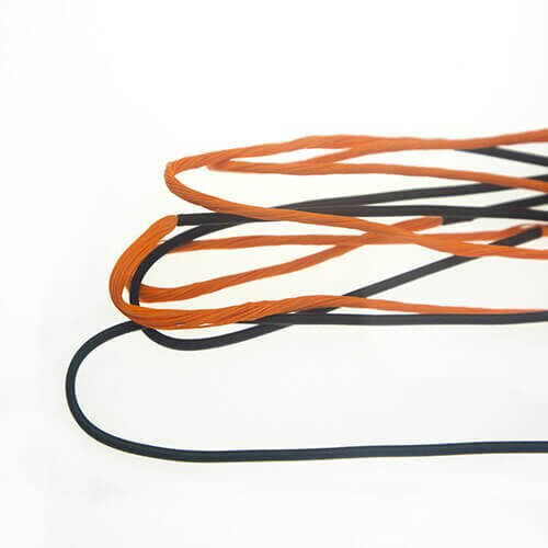 2-Color Fast Flight Longbow & Recurve Custom Bow String