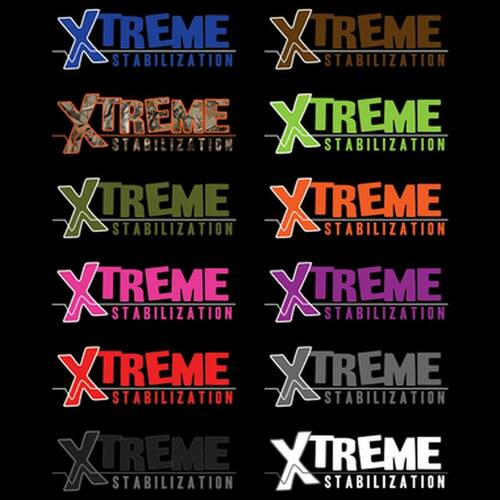 xtreme logo in different colors