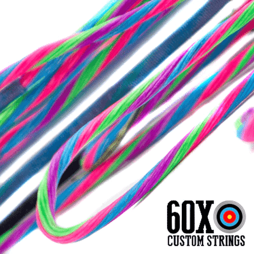60X BCY 4 Color Custom Compound Bow String
