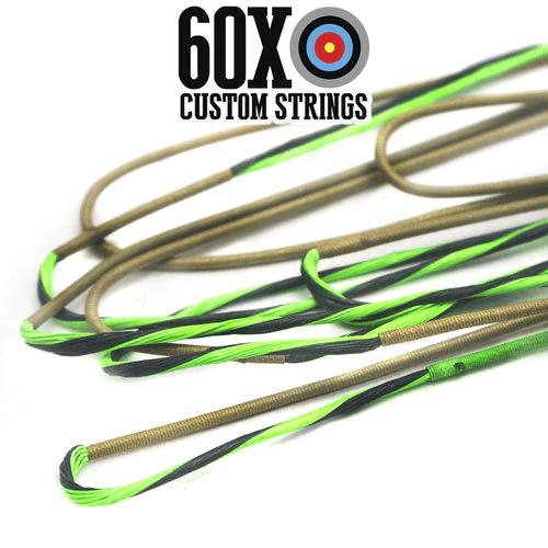 "Bowtech SWAT 60 1//8/"" Bow String par 60X Custom cordes neuves"