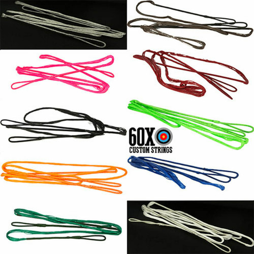 60X Single Color Dacron Oneida Custom Bow String