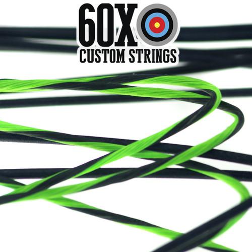 60X Custom Cordes /& Cable Set for any 2010 Hoyt Bow Couleur Choix Neuves