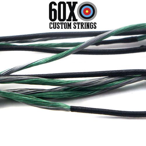 "Green B50 Dacron 35/"" Teardrop Compound Bow String 16 Strands Bowstring"