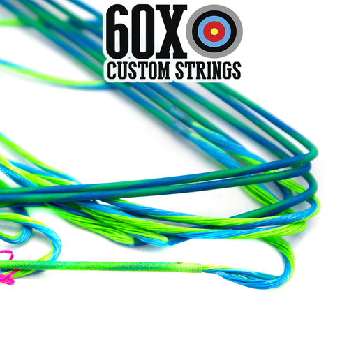 "60X Custom Strings 33 11//16/"" Buss Cable Fits Mathews SQ2 Bow"