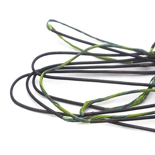 /& Cable Set par 60X Custom Cordes Diamond Justice composé 2007 Bowstring