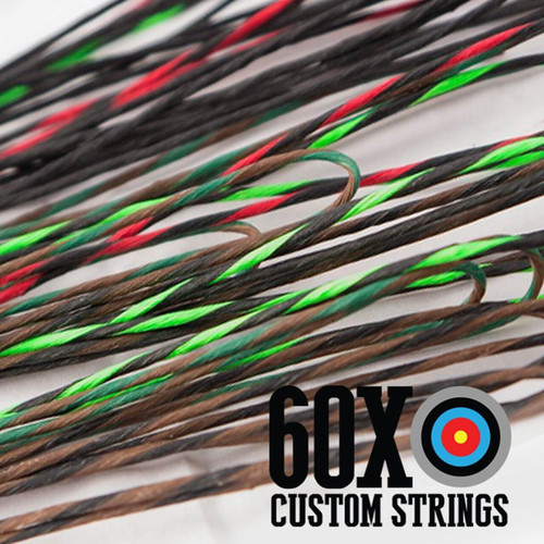 multi colored custom strings