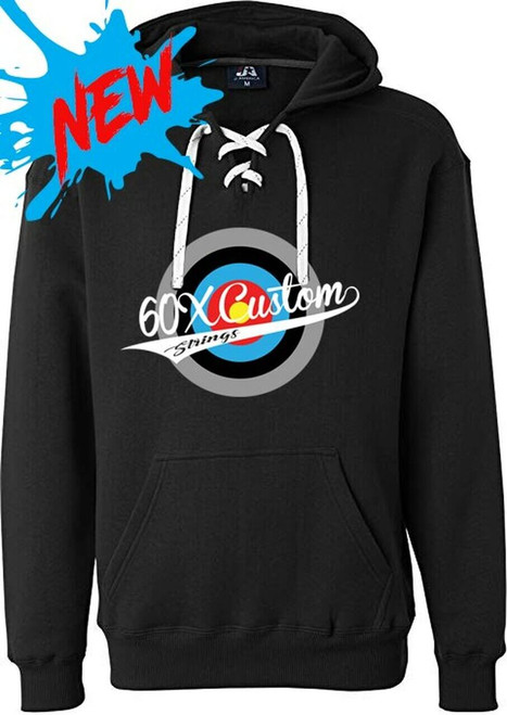 Sport Laced Hooded Sweatshirt