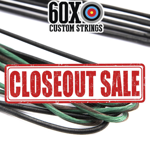 sale on dark green bow strings