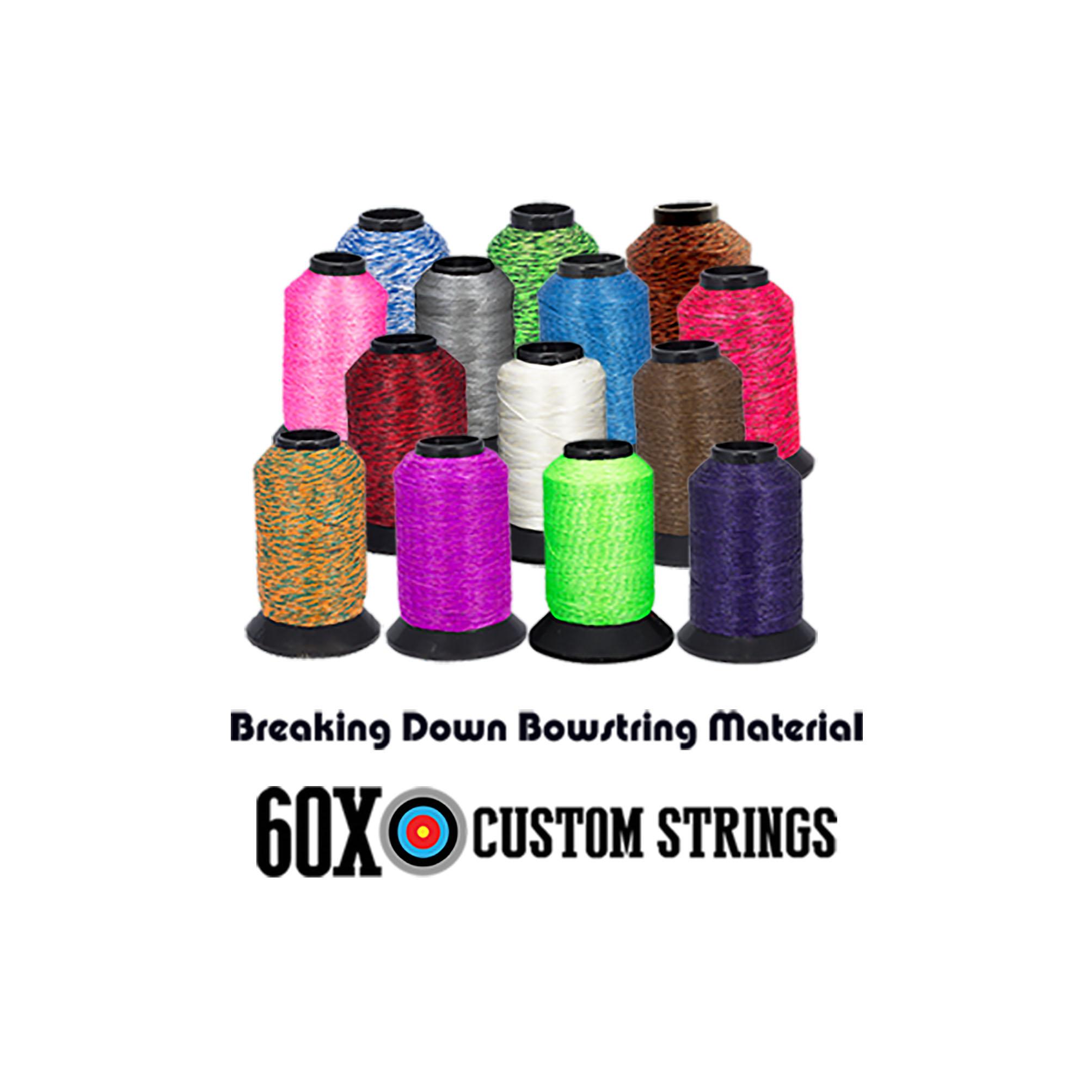 Bow String Material Guide - 60X Custom Strings