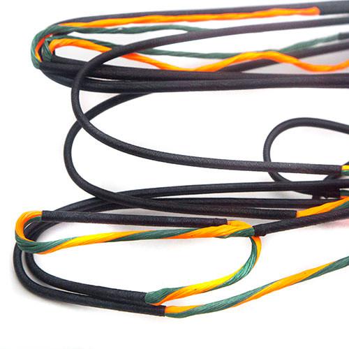 "Barnett assaut recourbé 27 1//2/"" Crossbow String par 60X Custom Cordes"