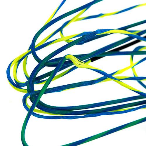 "60X Custom cordes 37 1//4/"" BUSS Cable fits Mathews FX Bow"