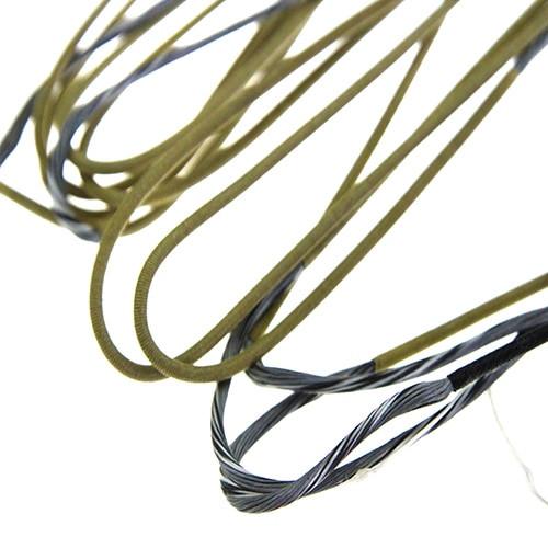 "60X Custom Strings 97 3//4/"" Cordes s/'adapte Mathews Q2XL Arc Bowstring"