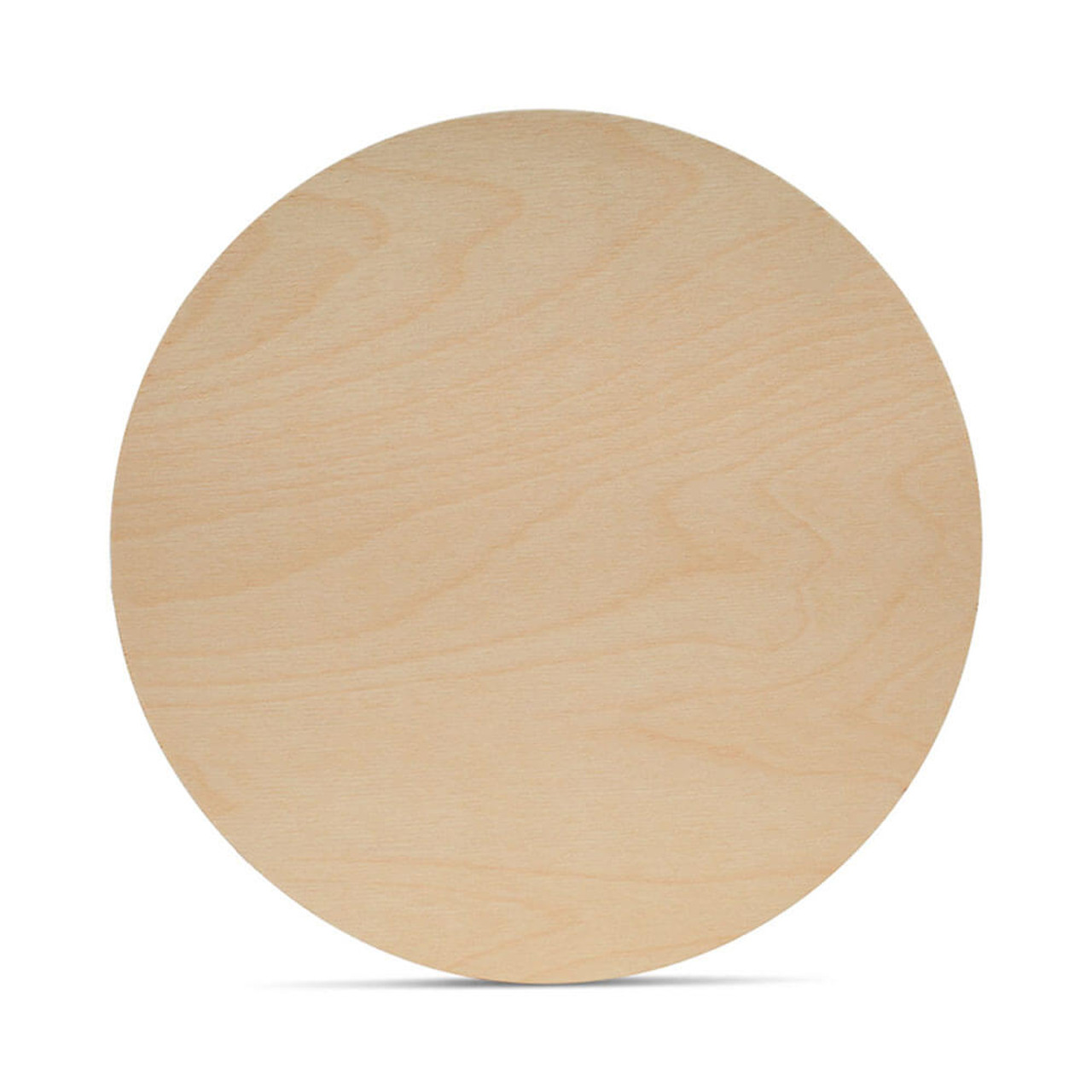 Wood Circles for Crafts 6 Inches in Diameter 12-Count Unfinished Wooden Round Disc Cutouts