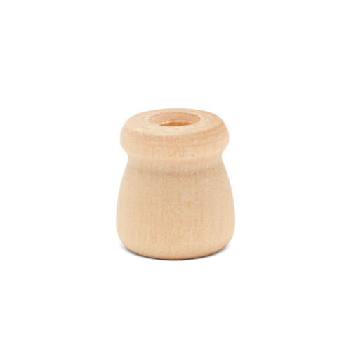 """5/8"""" Bean pot candle cup, 5/8 inches Bean pot candle cup, bulk unfinished, small bean pot candle cup, bean pot for DIY crafting projects"""