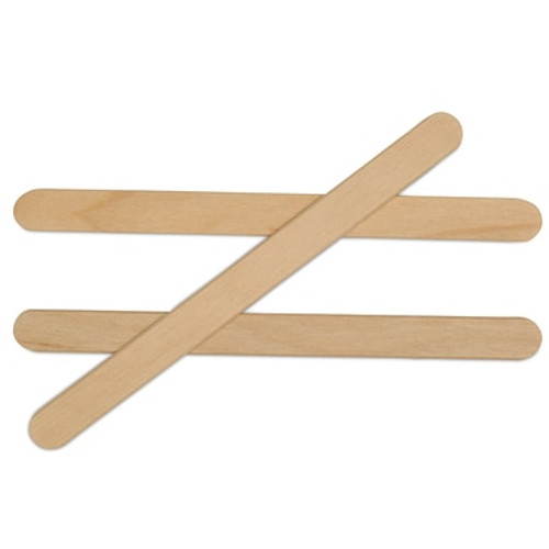 "4-1/2"" Standard Wooden Popsicle Stick"