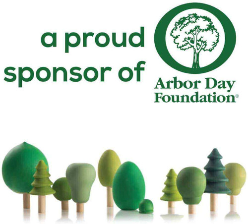 woodpecker craft part supplies is a proud sponsor of the Arbor day foundation