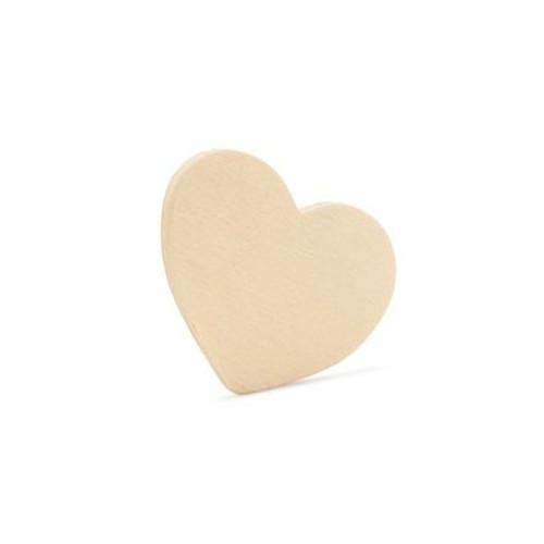 """2""""  Wooden Heart Cutout"""