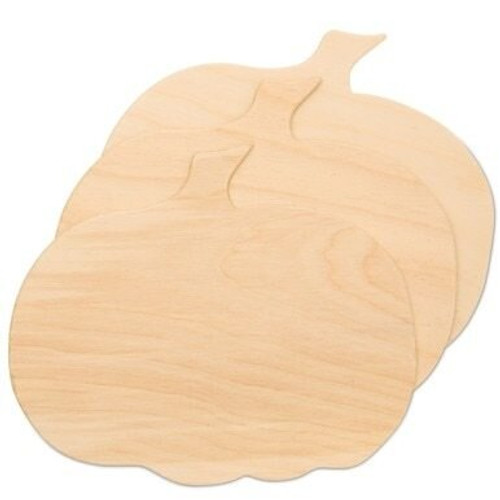 "10"" Wooden Pumpkin Cutout"