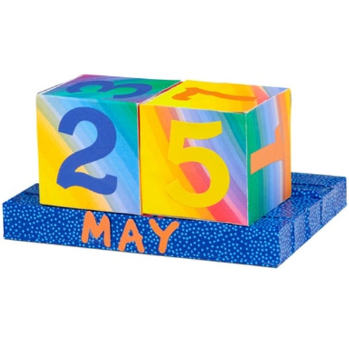 Perpetual Calendar Cubes