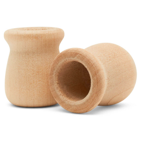 """1-5/16"""" Bean pot candle cup, 1-5/16 inches Bean pot candle cup, bulk unfinished, small bean pot candle cup, bean pot for DIY crafting projects."""