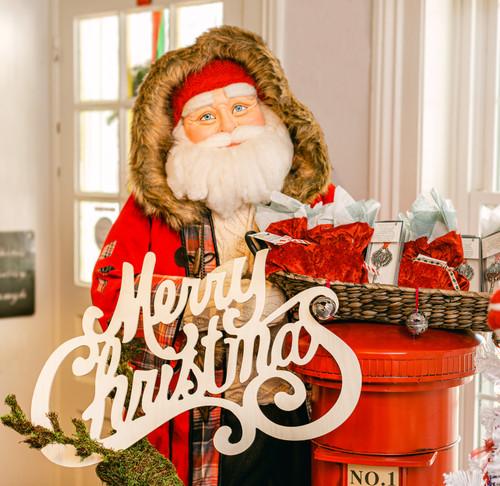 """Merry Christmas"" Cutout   24""L x 15""W"