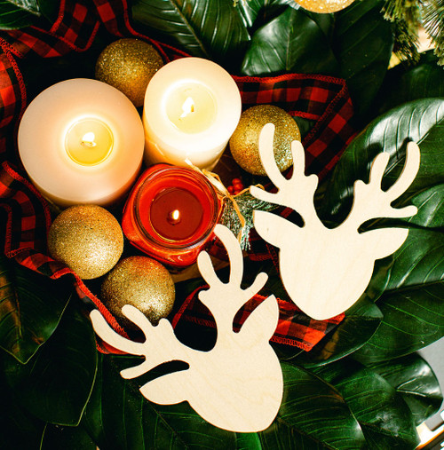 """Reindeer Cutout Small  6""""L x 5.5""""W"""