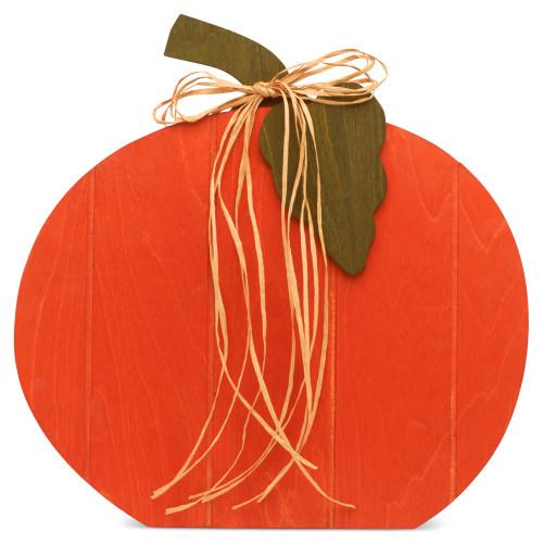 """17"""" Pallet Style Pumpkin"""