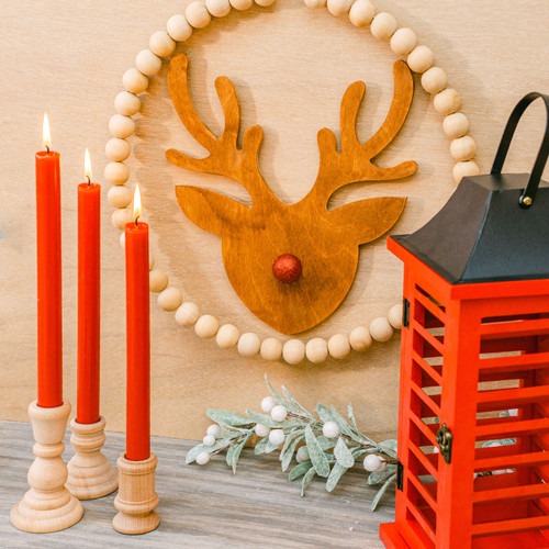 "Reindeer Cutout Jumbo 18""L x 16.5""W"