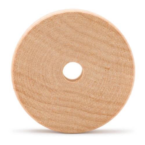 "2-1/2"" Wood Slab Wheel, 5/8"" thick"