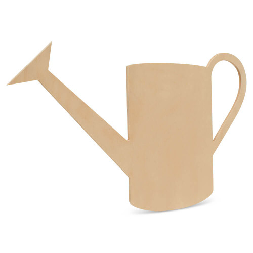 "Wood Watering Can Cutout Extra Large, 18"" x 13.25"""