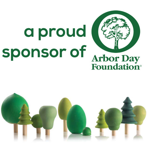 woodpeckers crafts is a proud sponsor of the Arbor day foundation