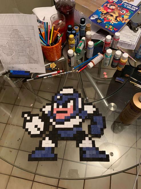 Half-inch Wooden Block Art by Pixel8dArt